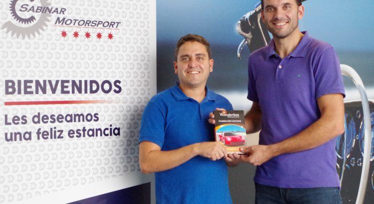 Ganador del sorteo de Sabinar Motorsport